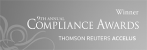 Sturgeon Ventures and Compliance-Awards-Thompson-Reuters-9th-2013