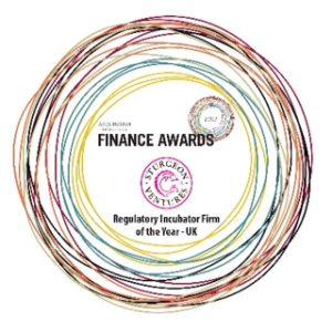 Sturgeon Ventures and Regulatory Incubator Firm of the Year - UK 2013