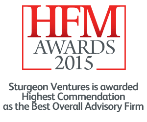 hfm2015-Best Overall Advisory Firm- Sturgeon Ventures Award