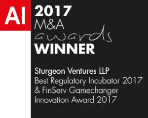 AI M&A 2017 Awards Sturgeon Ventures