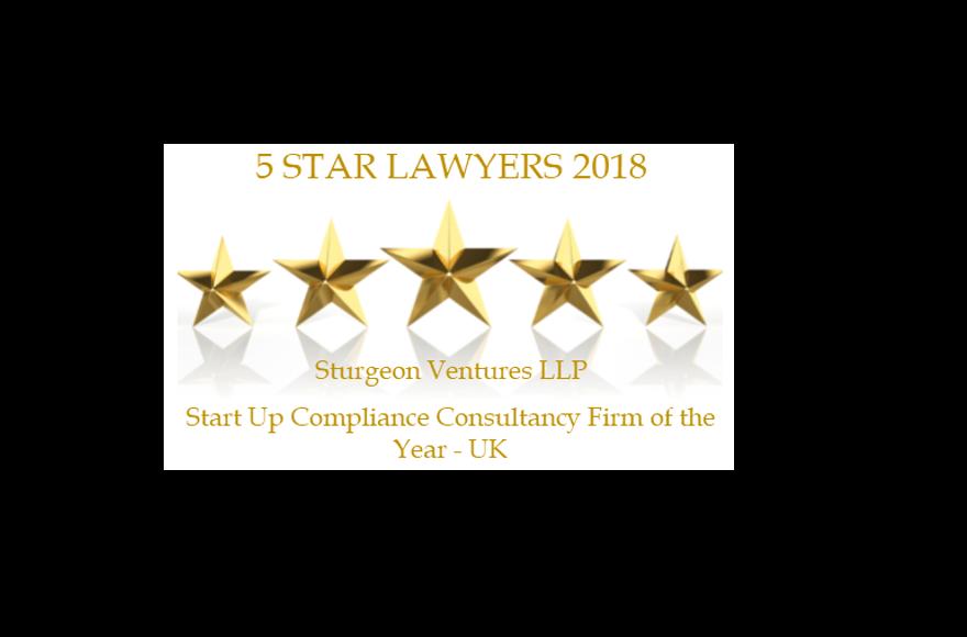 Five Star Lawyers Award for Sturgeon