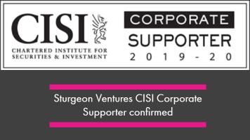 Sturgeon Ventures seals CISI Corporate Supporter Partnership