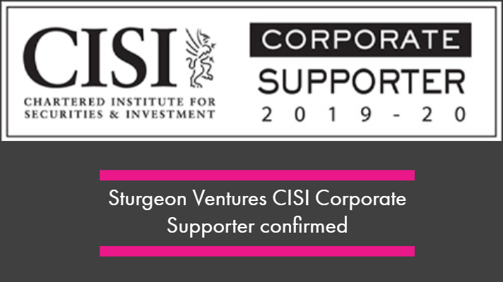 Sturgeon Ventures CISI Corporate Supporter