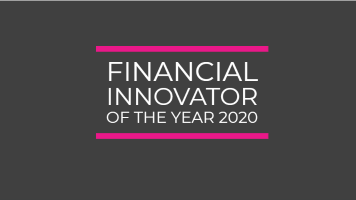 Financial Innovator of the year 2020 for Sturgeon Compliance