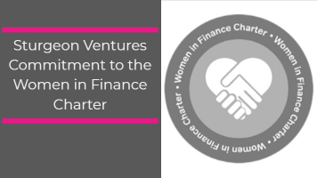 Sturgeon Ventures Commitment to the Women in Finance Charter